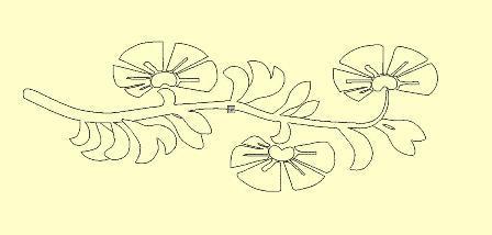 fleures non remplies