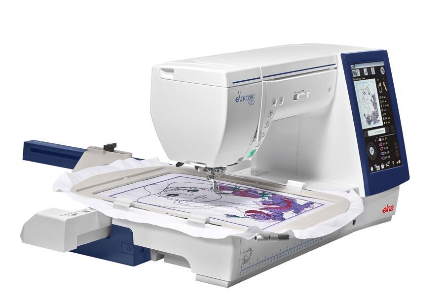 elna embroidery machine for sale