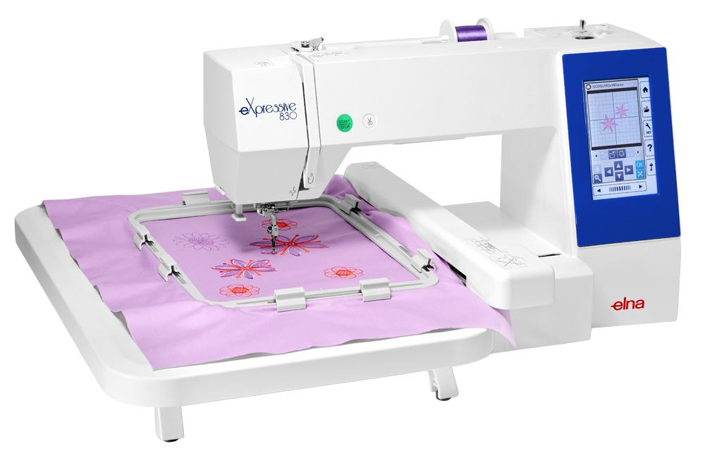 elna embroidery machine