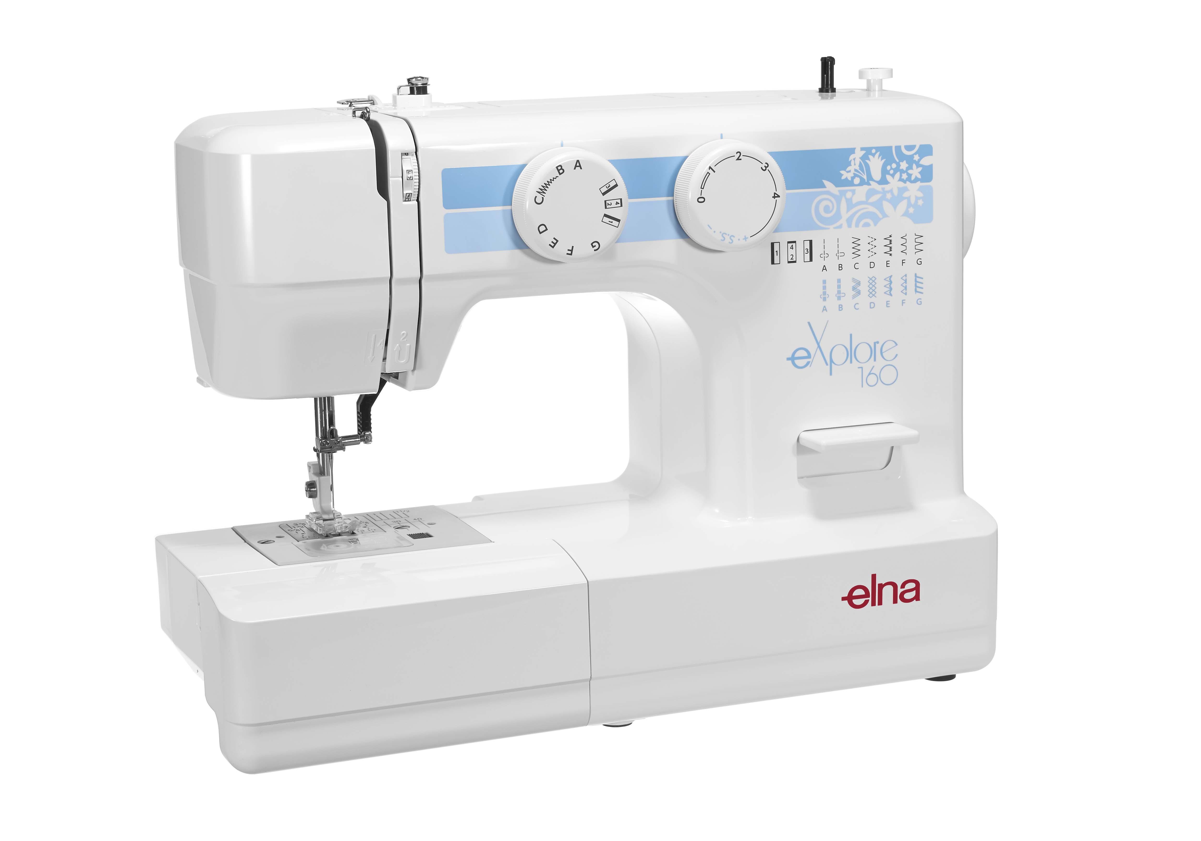 elna global website sewing explore 160 rh elna com Elna Supermatic Sewing Machine Manual Elnita Sewing Machine Manual