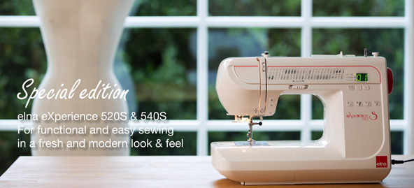 Elna - South Africa - Sewing machines - Embroidery - Quilt